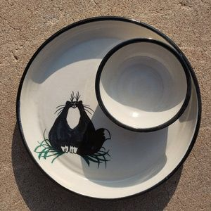 Other - Fat Cat Ceramic Hors D'Oeuvres Serving Platter